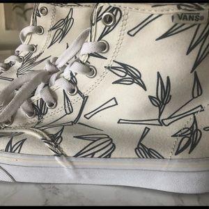 Rare Vans Camden Hi Bamboo Hi Top Sneakers